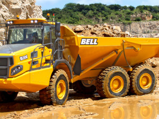 BELL 25E ARTICULATED TRUCK